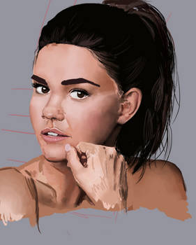 WIP of Maia Mitchell!!