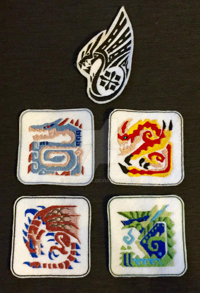 Monster Hunter Patches by Xiao-Yang