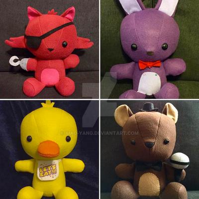 Freddy's Teddies by Xiao-Yang