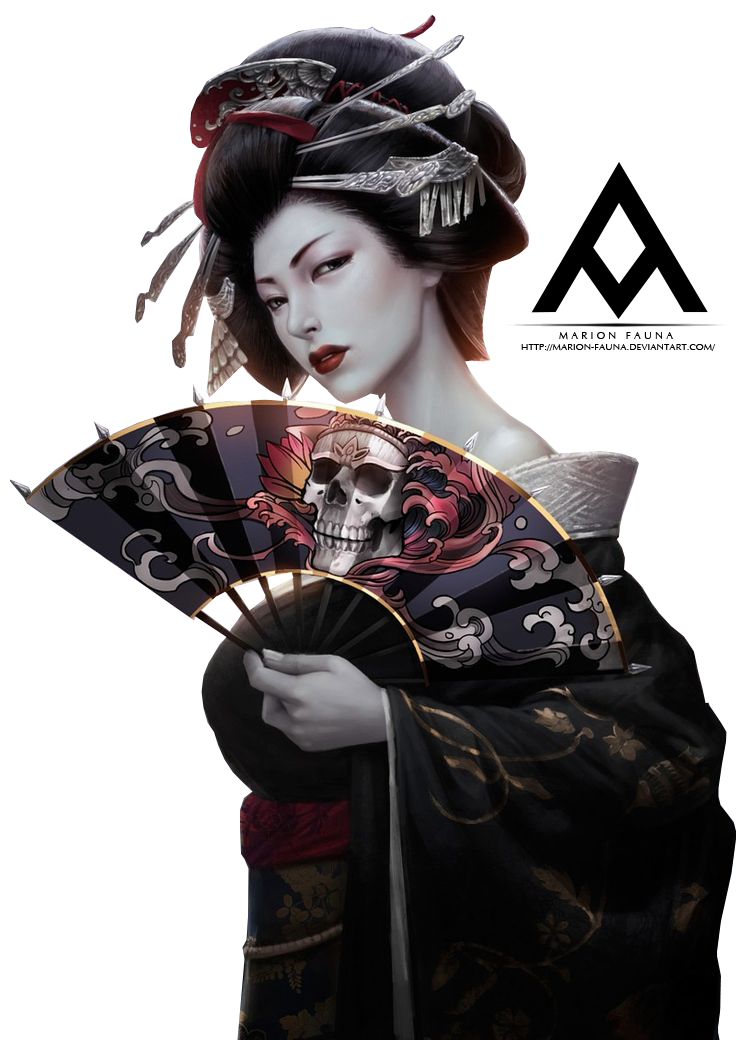 52 Japanese Geisha Tattoo Designs and   Piercings Models