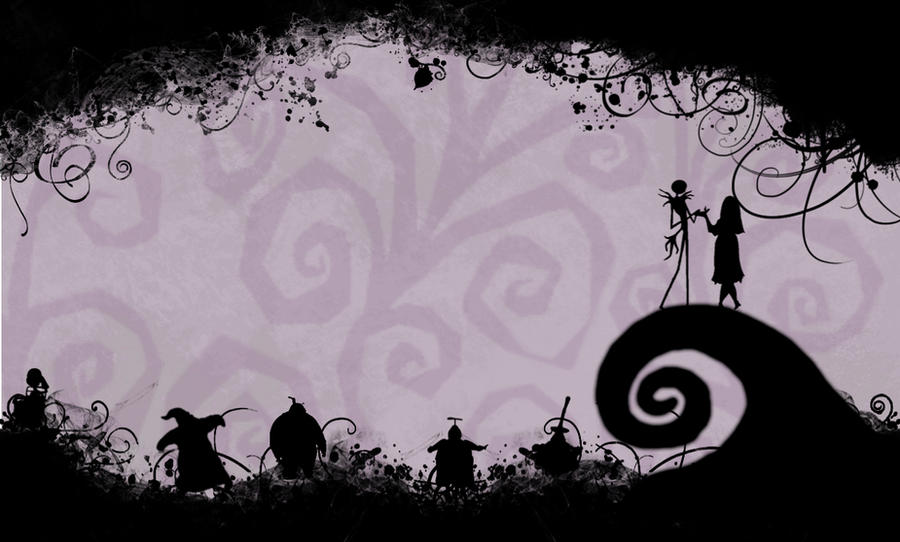 Nightmare Before Christmas Desktop Wallpaper by CyanideSeason on ...