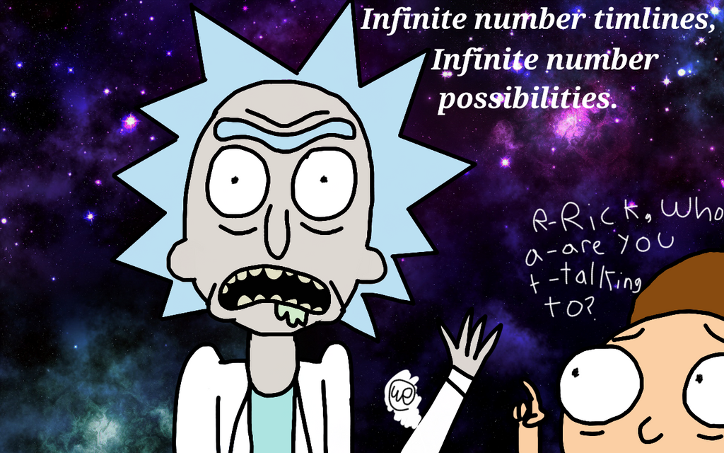 Infinite number timelines, by Toasted912