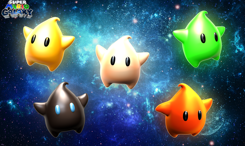 Super Mario Galaxy Luma Wallpaper By Toasted912 On Deviantart