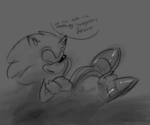 quick sonic doodle by toasted912