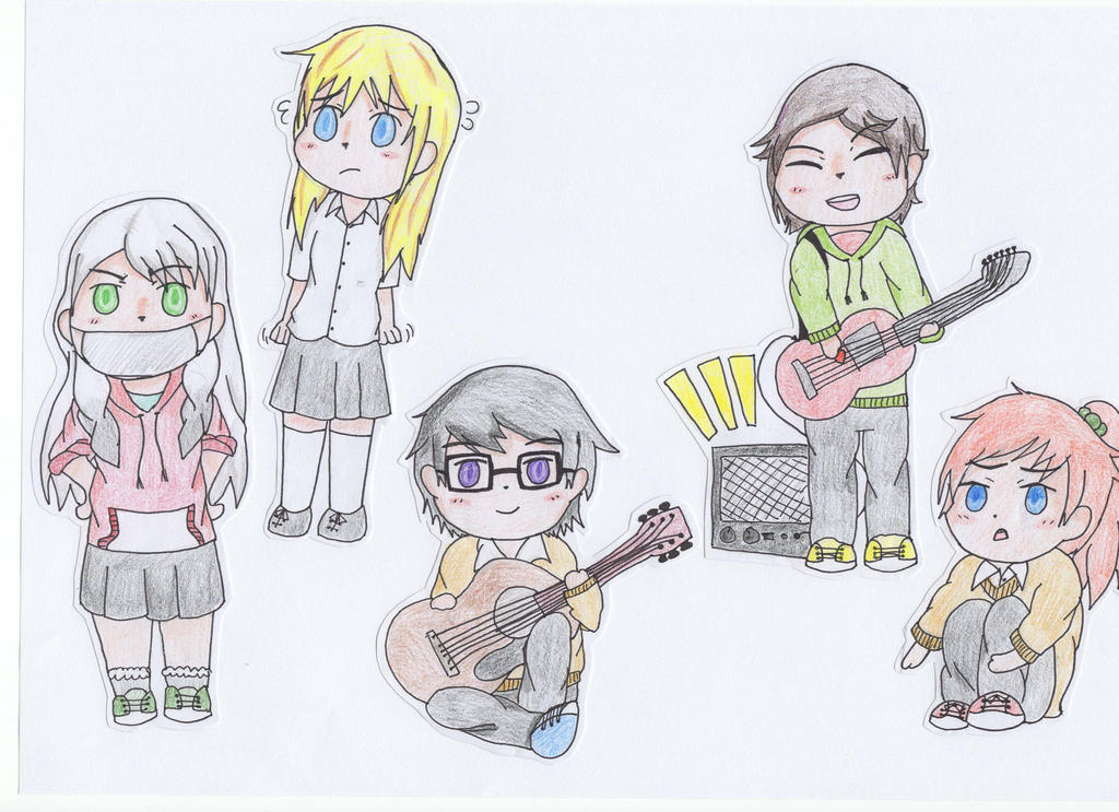 chibi paperdolls by psychedelic thoughts