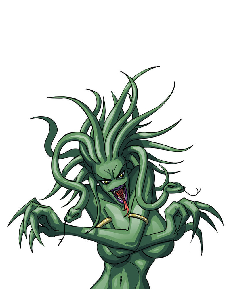 gorgon by griiot