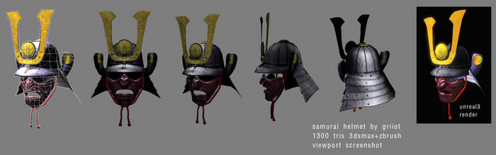 samurai helmet 2