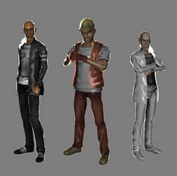 tempus fugit characters