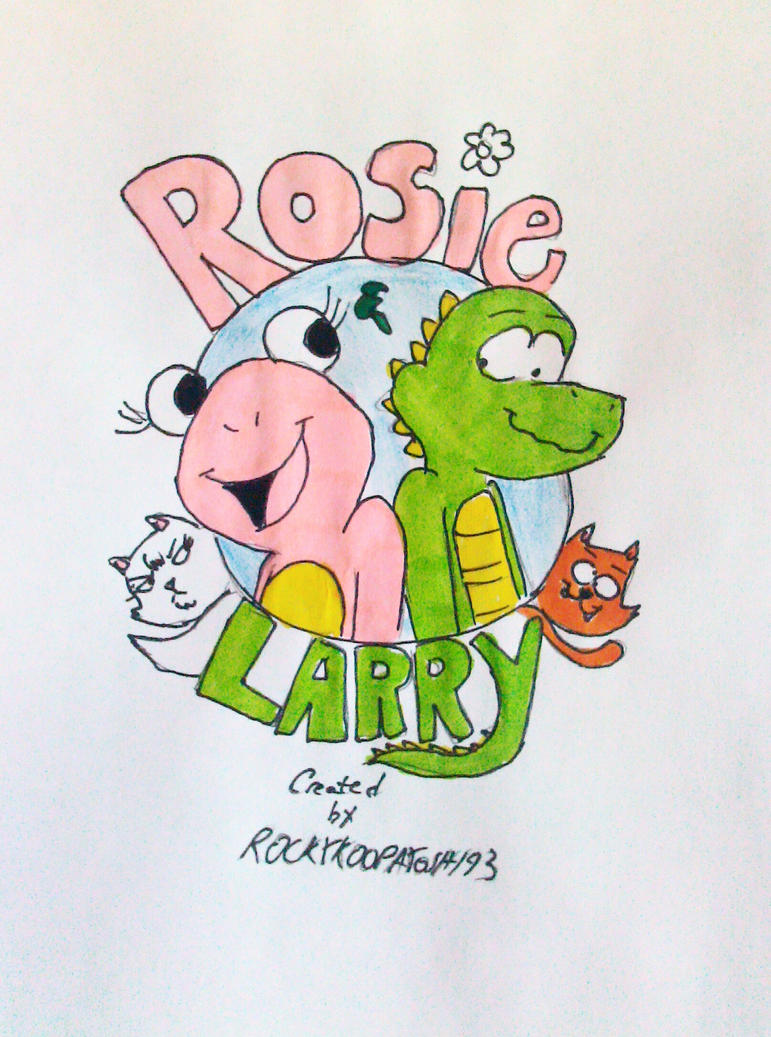 Rosie and Larry Poster by RockyToonzComics