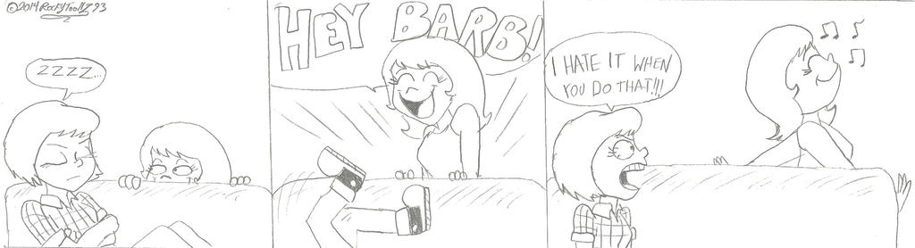 Barb and Cass: 8-6-14 by RockyToonz93