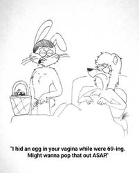 The Rabbit Hole #258 by RockyToonzComics