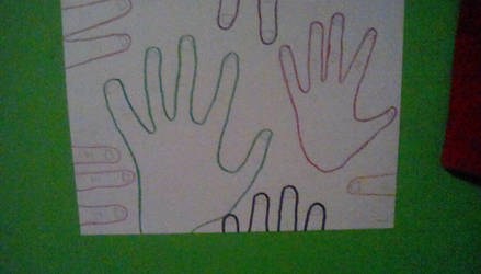 a pic of hands i drew