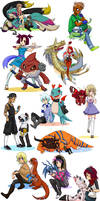 Digimon OCs 2