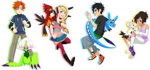 TEAM Digimon by glyfy
