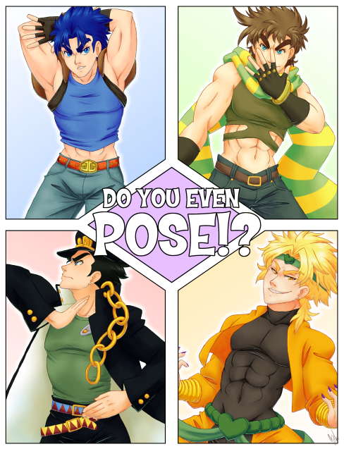Do You Even Pose!? by glyfy