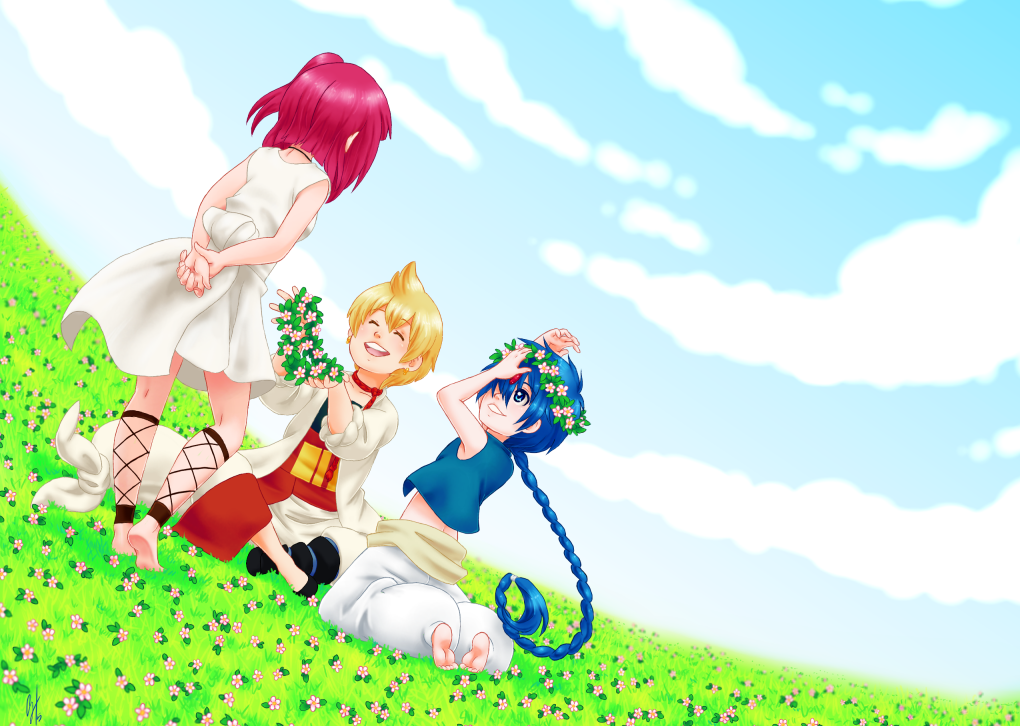 Magi - Flower Crowns by glyfy