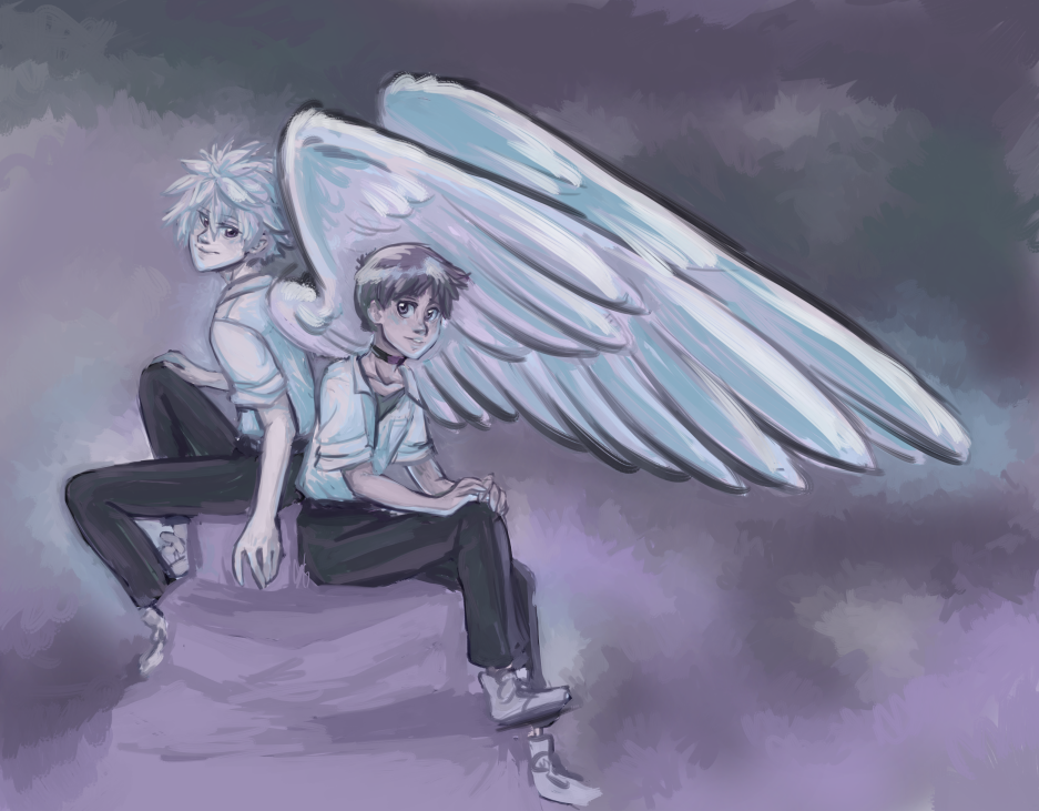 Guardian Angel by glyfy
