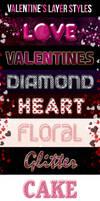 Valentine's Layer Text Styles