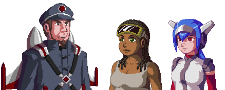Portraits from CrossCode