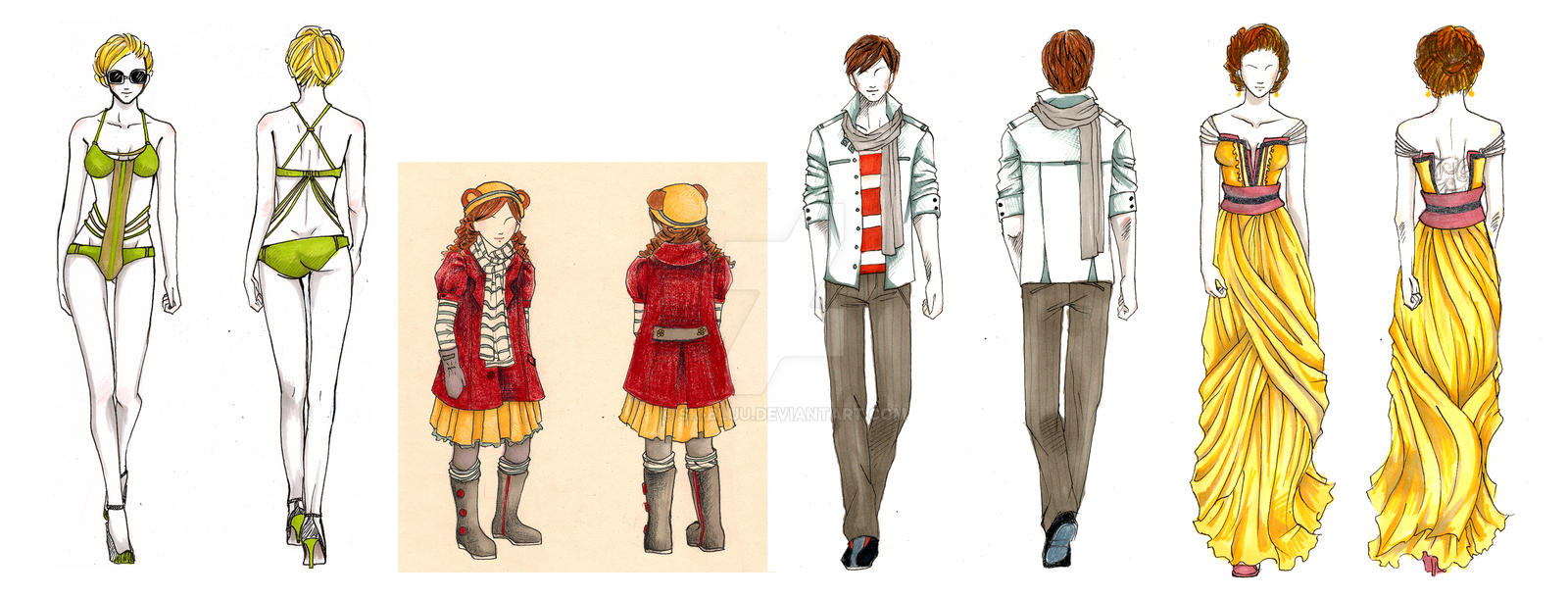 Ryerson Fashion Portfolio By Sk Bluu On Deviantart