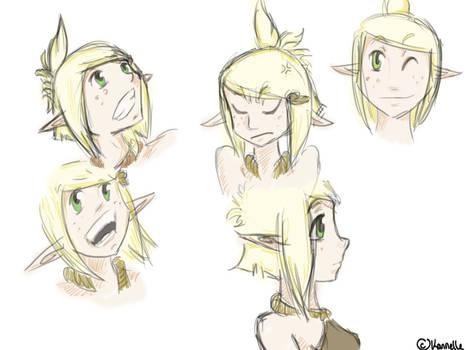 Evangelyne Faces