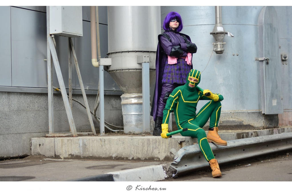 Kick-ass and hit-girl by shimyrk