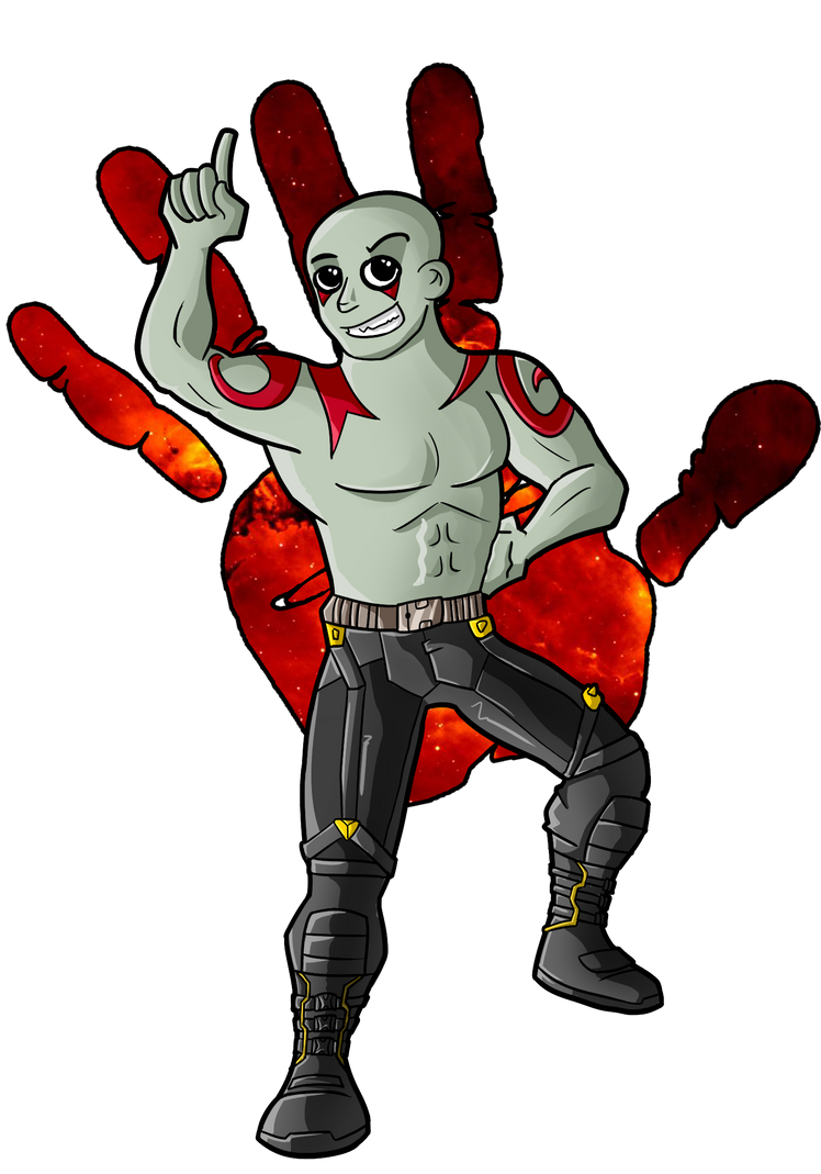 drax the destroyer by shimyrk