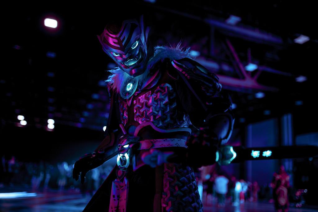Neon Genji by shimyrk