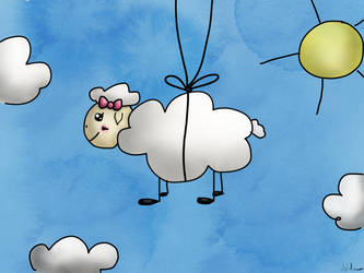 The flying sheep