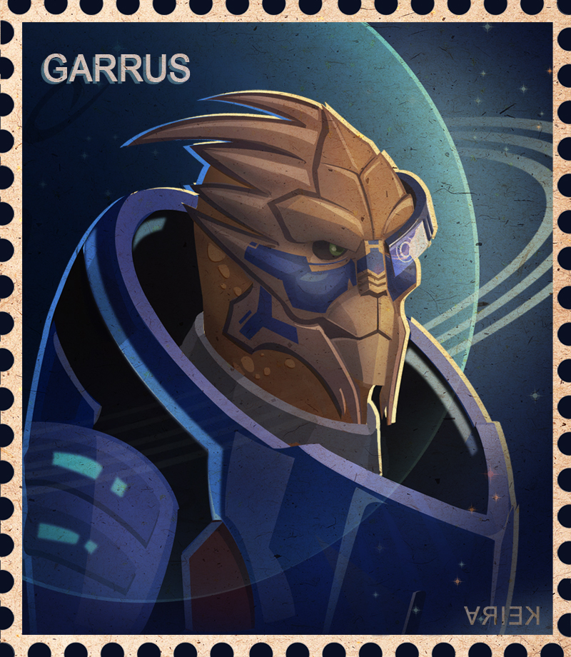 Garrus by crystalanna