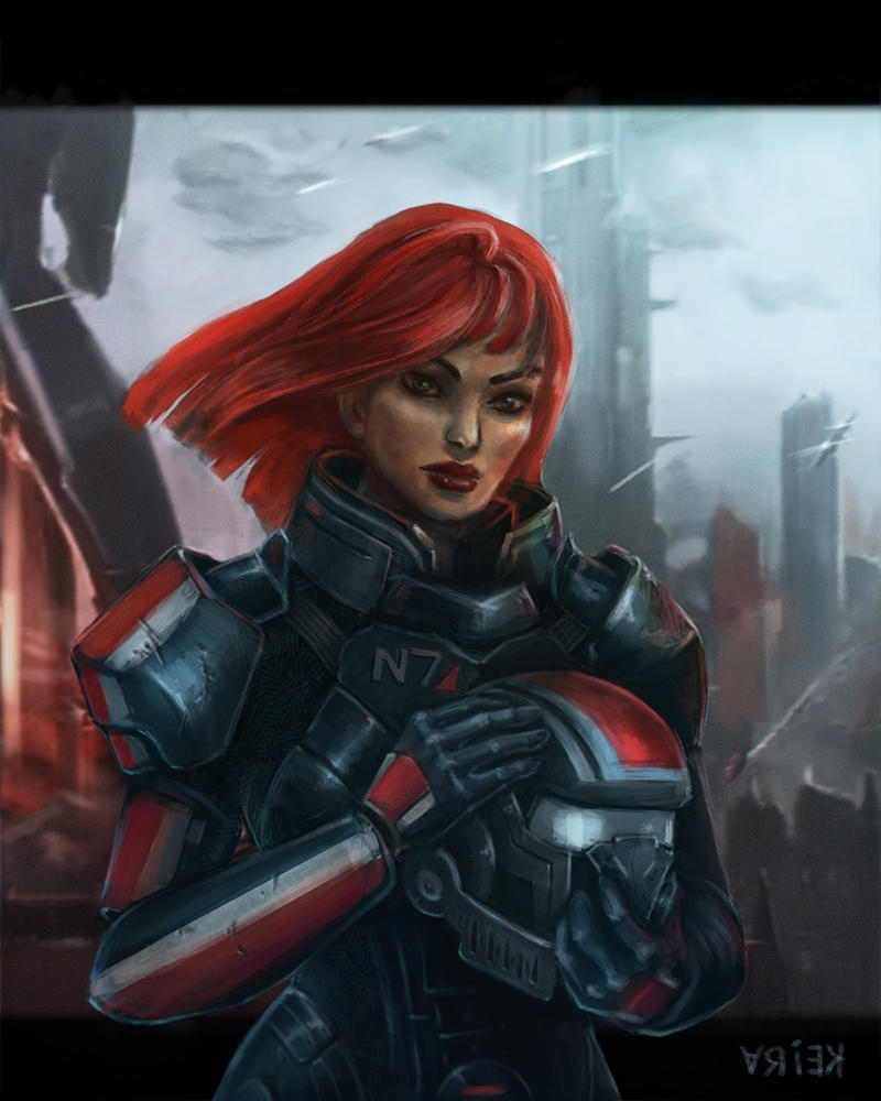 Shepard-done by crystalanna