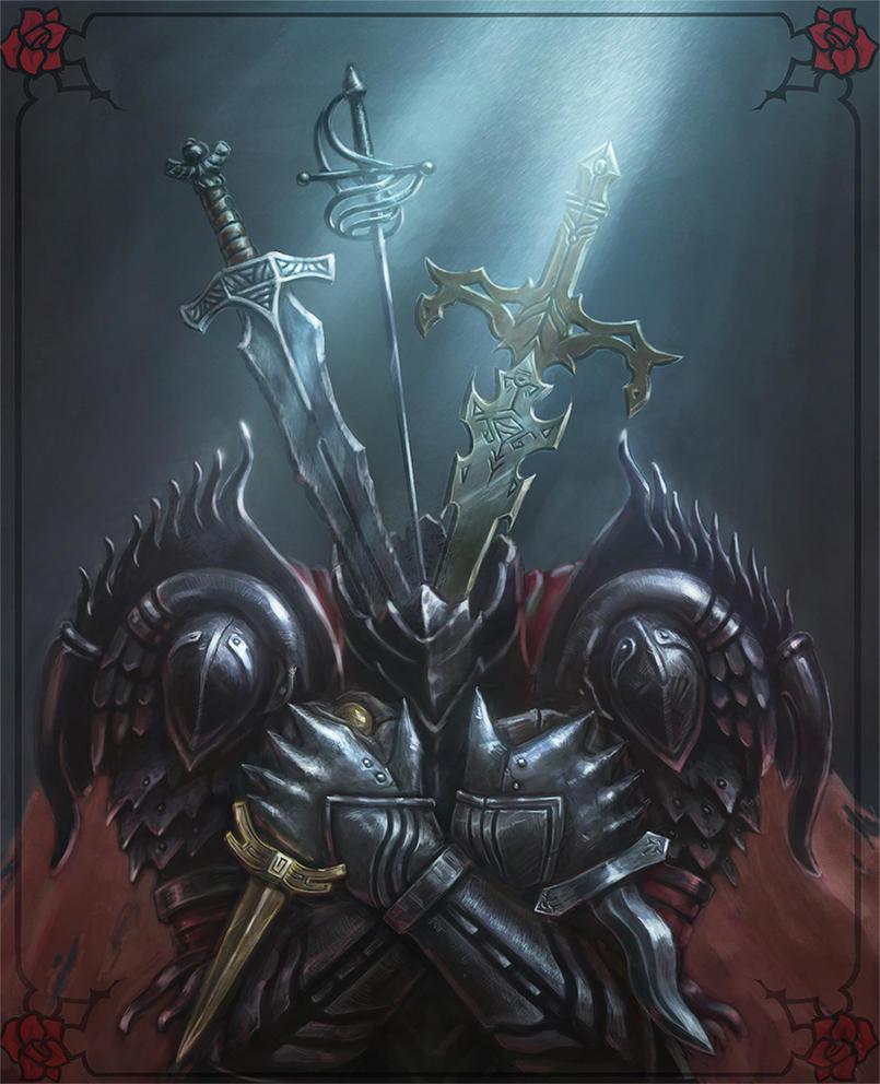 Knite Of Swards by crystalanna