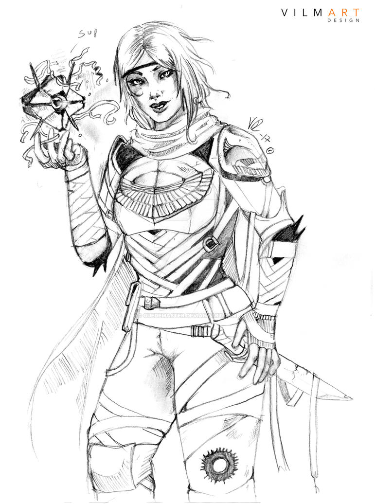 Rose the huntress