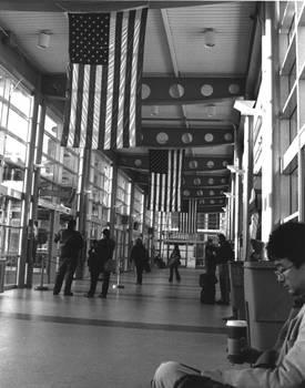 Inside SF Train Station