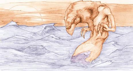 wingless sea gryphon