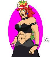 Bowsette by 7StarSoul