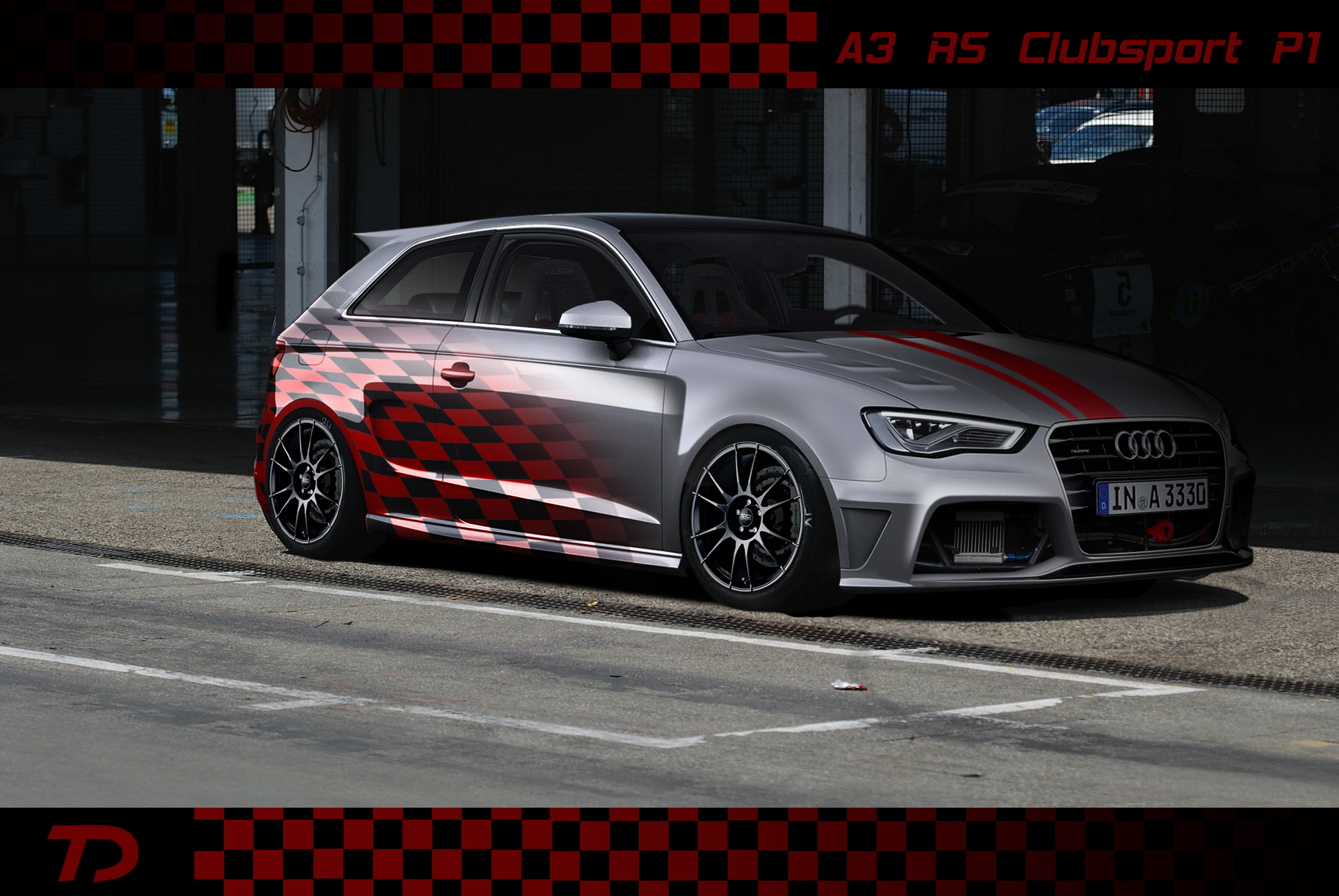 audi a3 rs clubsport p1 by teofilodesign on deviantart. Black Bedroom Furniture Sets. Home Design Ideas