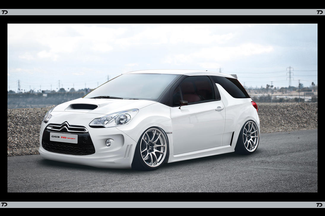 citroen ds3 rs sport by teofilodesign on deviantart. Black Bedroom Furniture Sets. Home Design Ideas