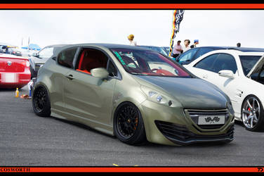 Peugeot 208 Cosworth by TeofiloDesign