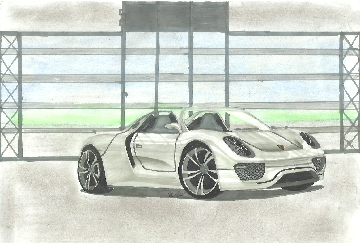 porsche 918 spyder by teofilodesign on deviantart. Black Bedroom Furniture Sets. Home Design Ideas