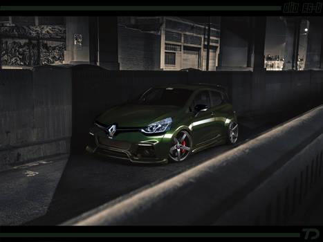 Renault Clio tuned