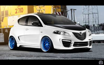 Lancia Ypsilon tuned