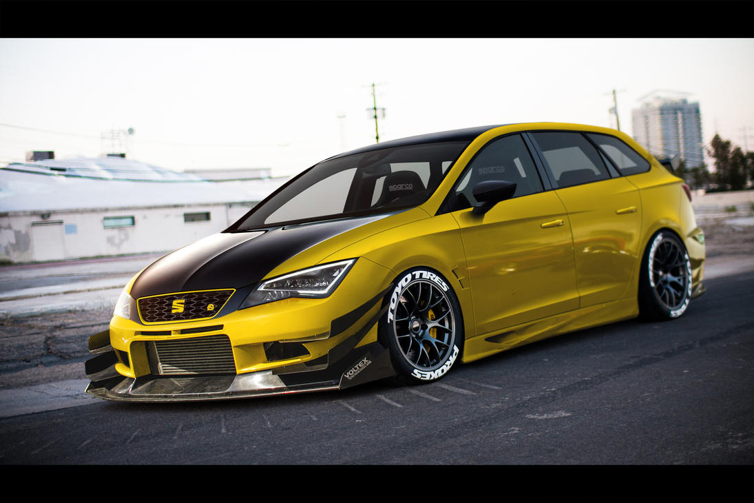Seat Leon ST tuned by TeofiloDesign