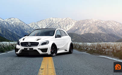 Mercedes A tuned
