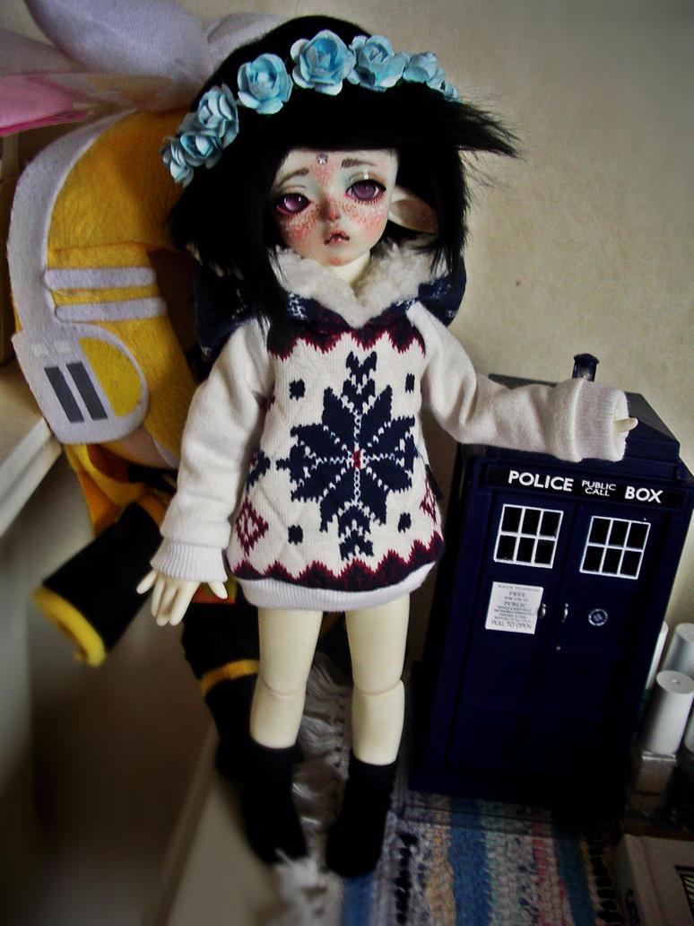 TARDIS by zenny-yumme
