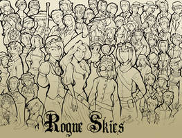 Rogue Skies - Full Cast by LeftiesRevenge