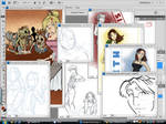Desktop Of Clutter