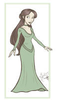 Disney Princess Emerwyn by LeftiesRevenge
