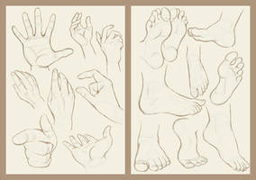 Hand and Foot by LeftiesRevenge