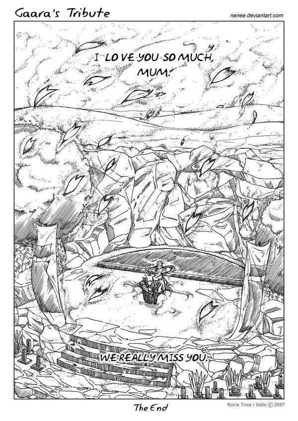 Gaara's Tribute - page 08 by nenee